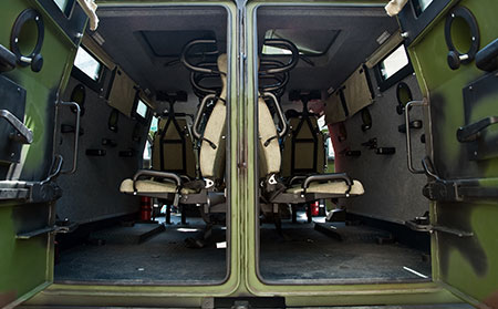Analysis of Proper Flame Retardant Seating for Tactical Vehicles