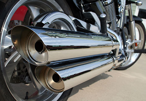 Case Study: Motorcycle Exhaust Module Application
