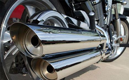 Energy Management Case Study: Motorcycle Exhaust Module Application