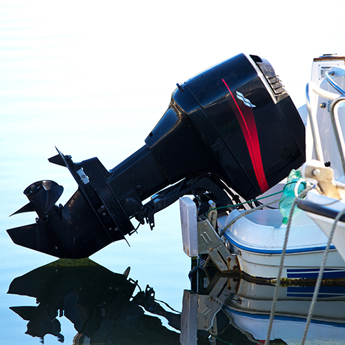 Custom molded foam solutions for noise reduction in outboard motors case study