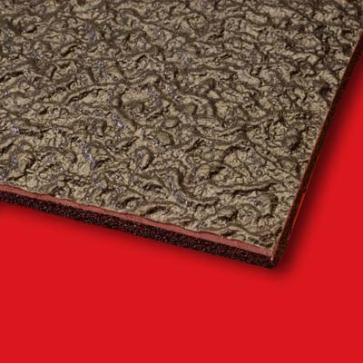 POLYDAMP acoustical barrier floor-mat for noise reduction